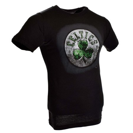 Boston Celtics Roaring Glory T Shirt  Black