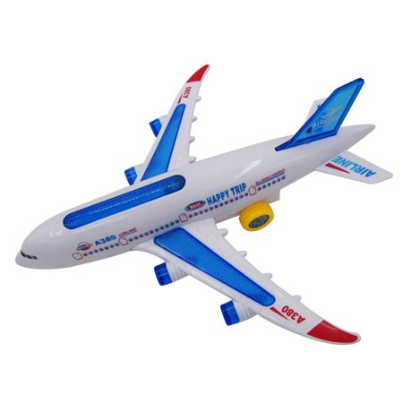 VENSE aircraft carrier in toys Multicolor Flash Plane Toy Sound Aircraft Music Lighting Children Kids Toys - image 5 de 8