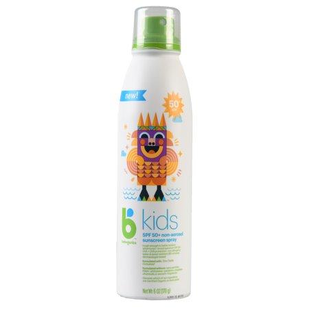 Babyganics Kids Sunscreen Spray, SPF 50, 6 (Best Babyganics Sunscreen For Kids)