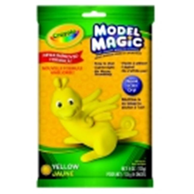 Crayola Non-Toxic Model Magic Mess-Free Modeling Dough - 4 Oz.  - Yellow