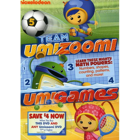 Team Umizoomi: Umigames (DVD) - Team Umizoomi Full Episode Halloween