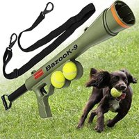 Pet Supplies Toy Training Dog Launcher Firing Gun Remote Speed Aiming Tennis Launcher, Size:52*19*9cm