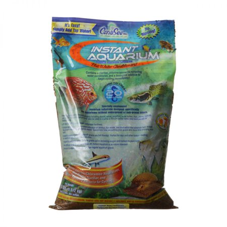 Caribsea Inc-Instant Aquarium Peace River Sand- Multi Colored 20 Pound (Case of 2 )