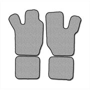 Averys Floor Mats 1026-701 Custom-Fit Nylon Carpeted Floor Mats For 1982-1989 Chevrolet Celebrity, Black, 4 Piece Set