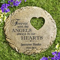 Personalized In Our Hearts Memorial Stone