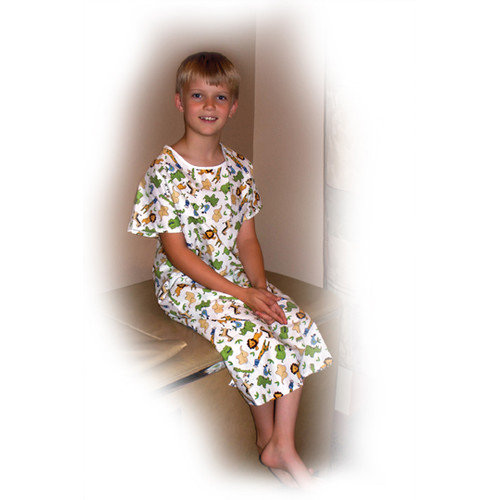 Core Products Printed Gown Youth Adaptive Clothing