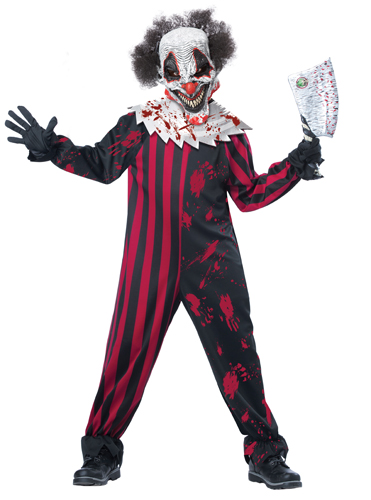Kids Killer Klown Boys Horror Halloween Costume   Walmart.com
