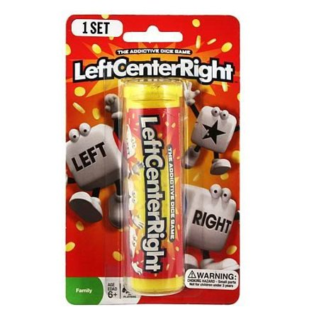 Left Center Right Dice Game - Styles Vary Tube/Tin, LCR/Left Center Right is a fun, fast-paced dice game that you won't be able to put down](The Left Right Game For Halloween)