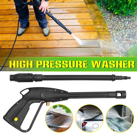 105 / 135 Bar M14 High Pressure Washer Trigger Gun Lance w/ Variable Nozzle Jet Wash ()