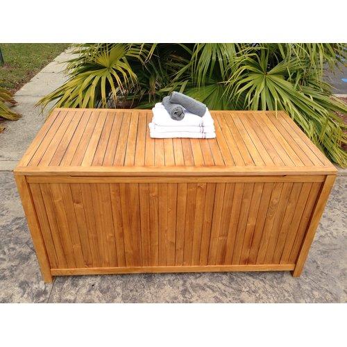 Chic Teak Santa Barbara Teak Deck Box by