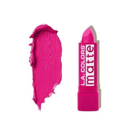 L.A. COLORS Matte Lipstick - Forever Fuchsia