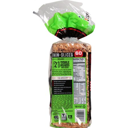 Dave's Killer Bread® Thin Sliced 21 Whole Grains and Seeds Organic
