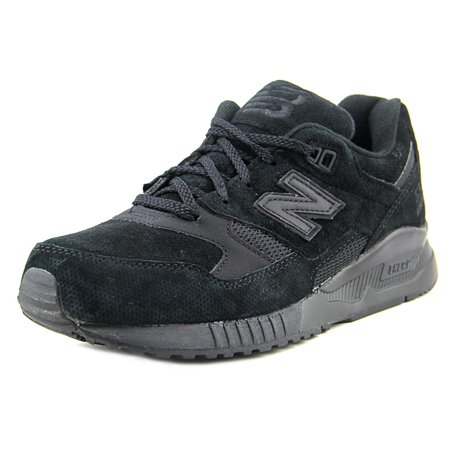 New Balance M530 Men  Round Toe Suede Black Sneakers