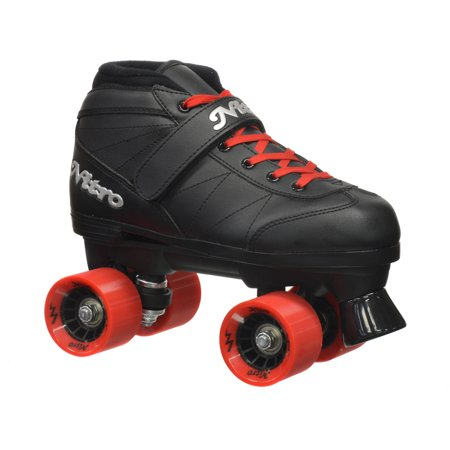Epic Super Nitro Red Quad Speed Roller Skates