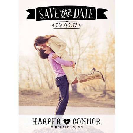 Picture Perfect Standard Save the Date - Save The Date Destination Wedding
