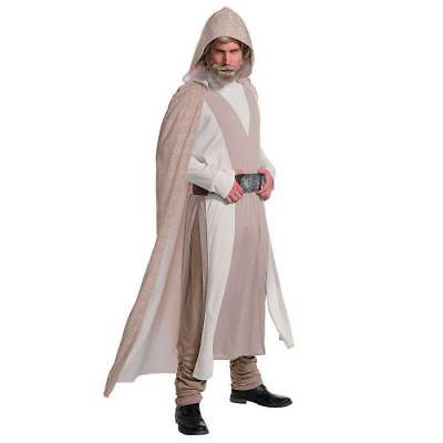Men's Deluxe Star War Episode VIII:The Last Jedi Luke Skywalker Costume Standard