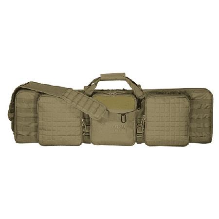 VOODOO TACTICAL Voodoo 42 Deluxe Padded Weapon Case w/ 6 Black Locks