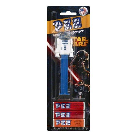 PEZ Star Wars Candy & Dispenser, 1 ea (Pack of 6) (Star Wars Candy)