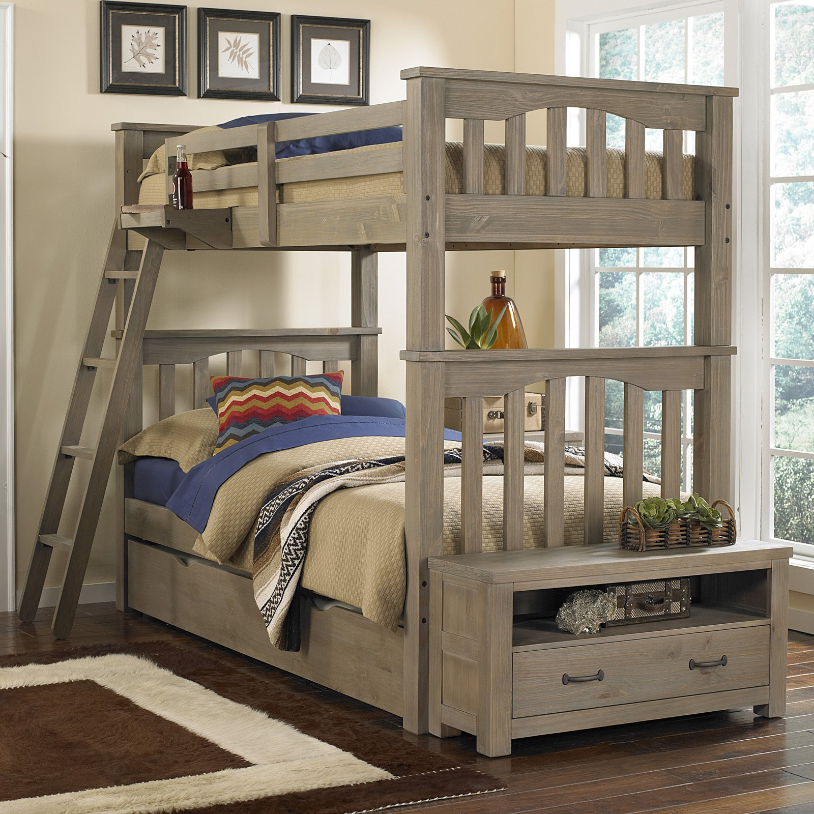 NE Kids Highlands Harper Twin over Twin Bunk   Walmart.com