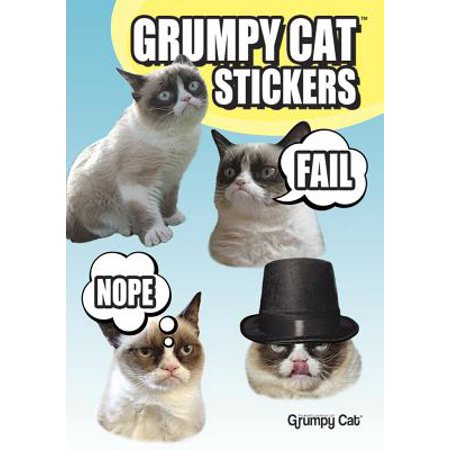 Grumpy Cat Stickers (Best Of Grumpy Cat)