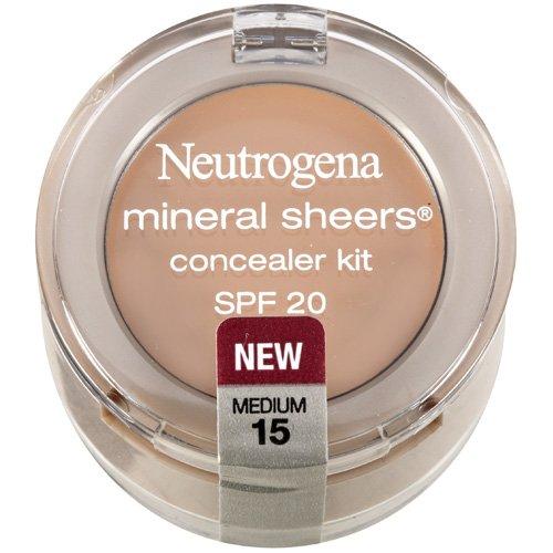 Neutrogena Mineral Sheers Medium 15 Concealer Kit .15 Oz