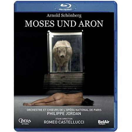 Arnold Schonberg: Moses und Aron (Blu-ray) (Schwarz Und Mild Shorts)
