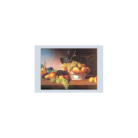 Still Life With Fruit Print (Unframed Paper Print 20x30)