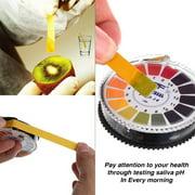 Siaonvr PH Test Strips Universal pH Test Paper Strips pH Measure Full Range 0-14