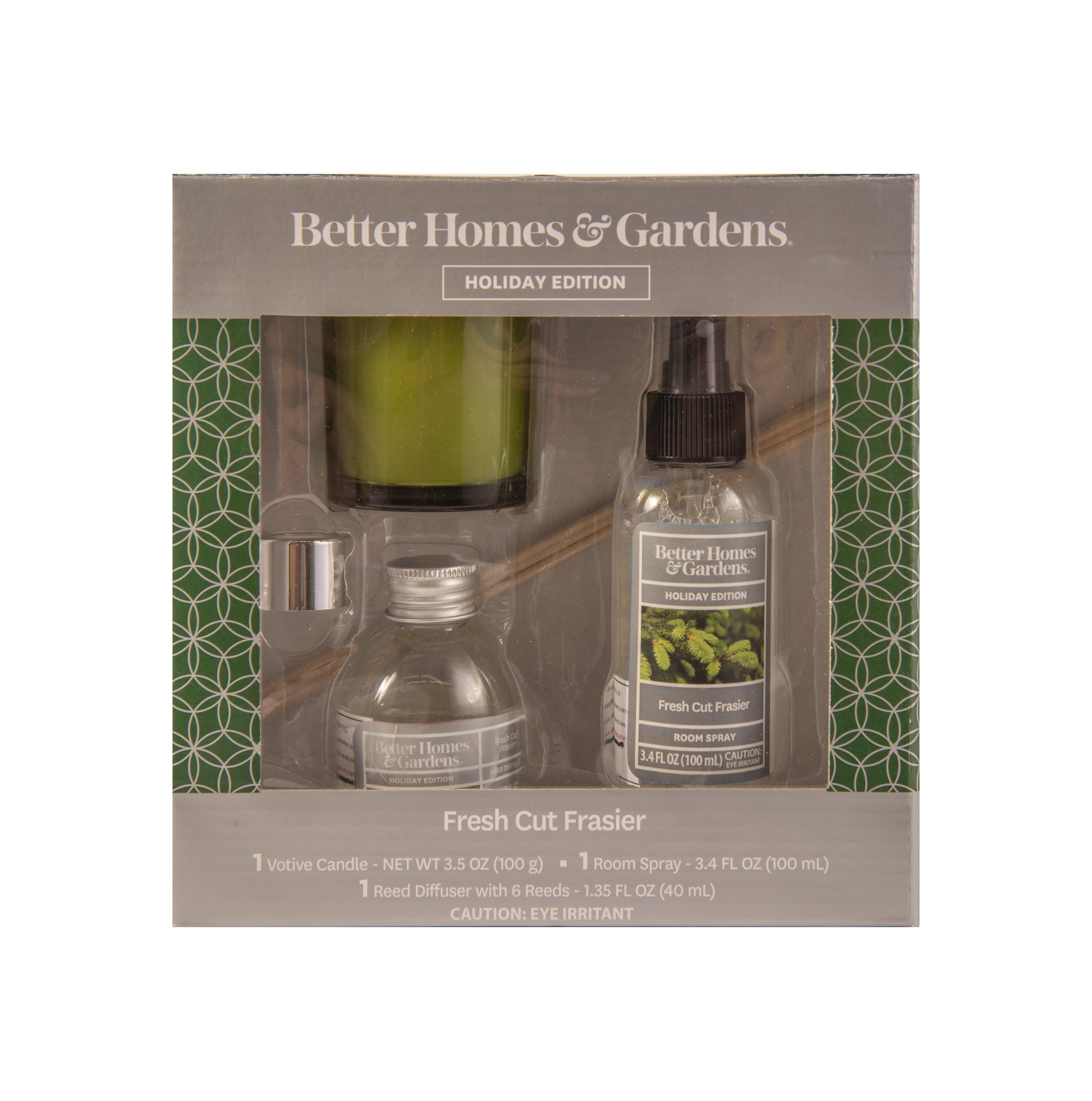 Better Homes & Gardens 3 Piece Fresh Cut Frasier Home Fragrance Gift Set