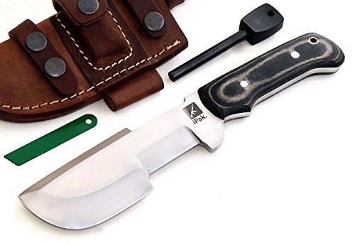 CFK Cutlery Company IPAK USA WARTHOG I TRACKER Custom Handmade D2 Tool Steel Micarta Hunting Skinning Chopping Knife &... by CFK Cutlery Company