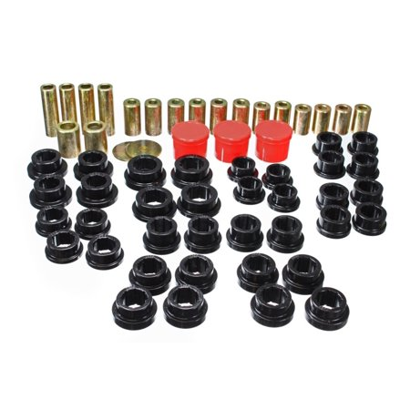 Energy Suspension 02-09 350Z / 03-07 Infinity G35 Coupe Black Rear Control Arm Bushing Set
