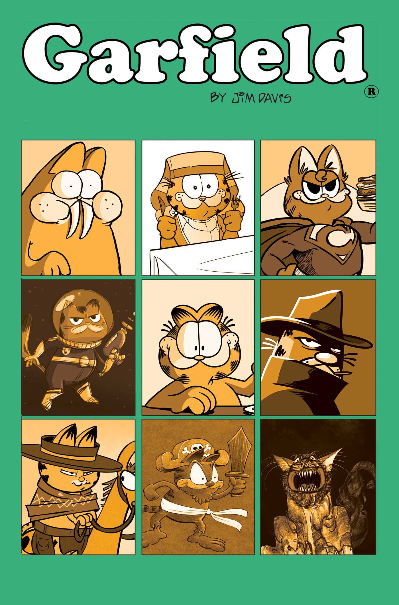 Garfield Vol. 9: His Nine Lives (Book #9 of Garfield) By Scott Nickel
