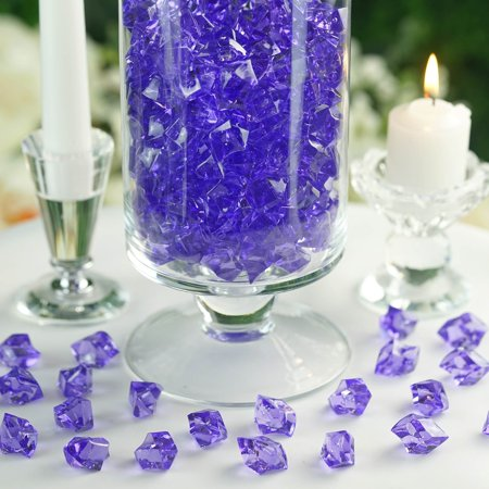 Efavormart 300 pcs  Large Acrylic Ice Crystals Wedding Party Table Scatters Decorations For Banquet Events Party Decorations - Party Party