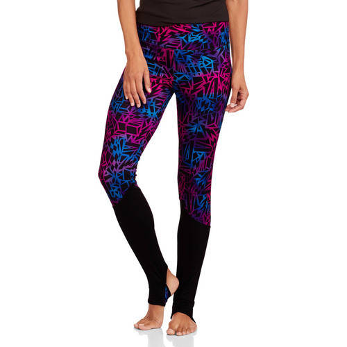Danskin Now Studio Women's Contrast Leg Inset Legging