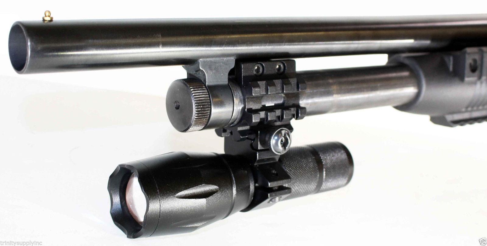 tactical 1000 lumen strobe flashlight fits mossberg