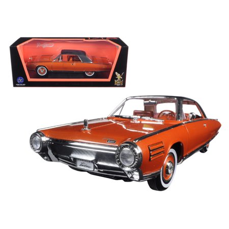 1963 Chrysler Turbine Bronze 1/18 Diecast Model Car by Road Signature - image 1 of 1