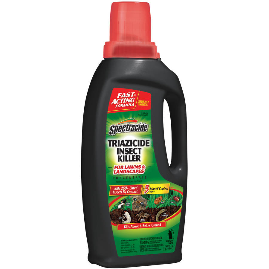Spectracide Triazicide Insect Killer for Lawns, 32-Ounce
