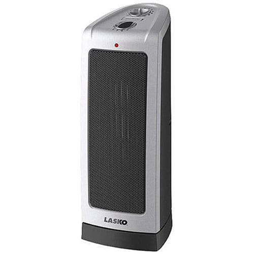 Lasko Electric Oscillating Ceramic Tower Space Heater, 1500-Watt, 5307