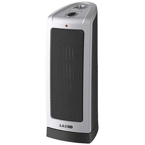 Lasko Electric Oscillating Ceramic Tower Space Heater, 1500-Watt, 5307