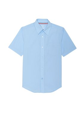 French Toast Boys 4-20 School Uniform Short Sleeve Classic Button-Up Dress Shirt