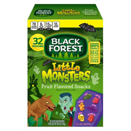 Halloween Fruit Snack Ideas (Black Forest Little Monsters Halloween Fruit Snacks, 32)