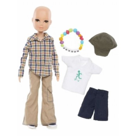 Moxie Boyz True Hope Doll - Jaxson Boy Doll Cancer Research (Hope Dolls)