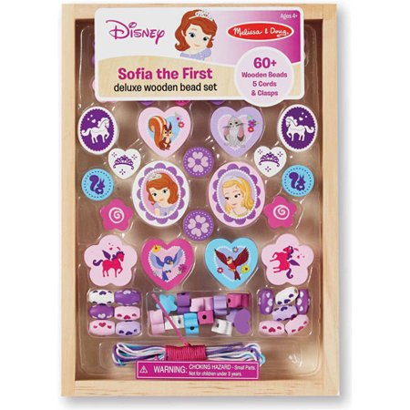 Disney Sofia The First Deluxe Wooden Bead Set