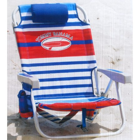 Enjoyable Tommy Bahama Backpack Chair Red White And Blue Stripes Short Links Chair Design For Home Short Linksinfo