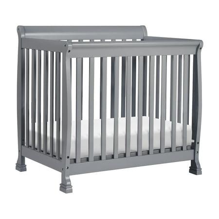 - DaVinci Kalani 2-in-1 Convertible Mini Crib and Twin Bed in Grey Finish
