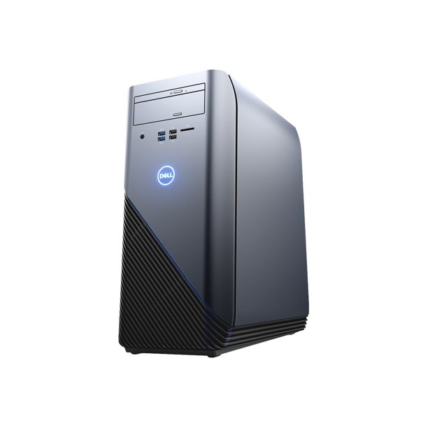 Dell - Inspiron Desktop - AMD Ryzen 7-Series - 16GB Memory - AMD Radeon RX 580 - 1TB Hard Drive - Recon Blue With Solid Panel PC Computer I5676-A696BLU-PUS