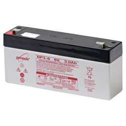 Replacement for BONDWELL B-300 replacement battery