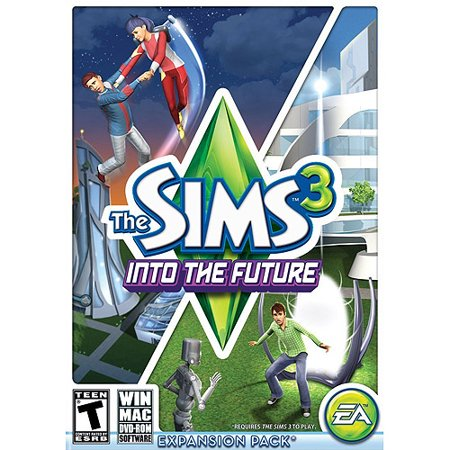 Sims 3 Into The Future Logo