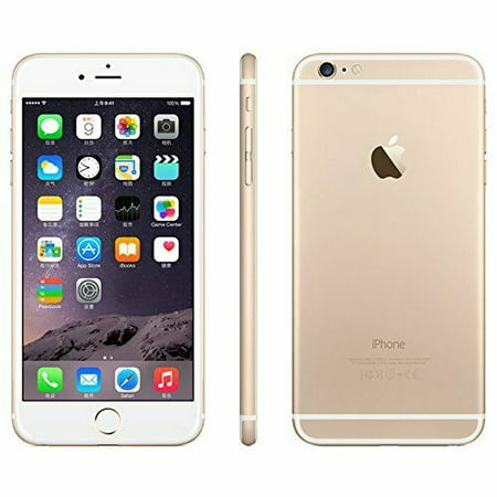 Refurbished Apple iPhone 6 Plus 16GB 64GB 128GB GSM Unlocked AT&T T-Mobile Metro Gold Black