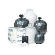 Inteplast Group Interleaved High-Density Trash Bags, 24x24, 10gal, 8mic, NL, 50/RL, 20 RL/CT -IBSS242408N